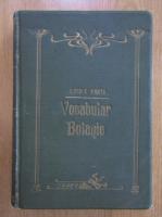 Anticariat: Zach Pantu - Plantele cunoscute de poporul roman (1906)