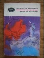 Anticariat: Bernardin de Saint Pierre - Paul si Virginia