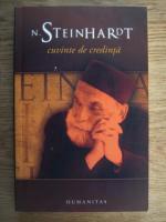 Nicolae Steinhardt - Cuvinte de credinta
