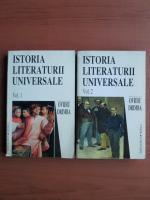 Anticariat: Ovidiu Drimba - Istoria literaturii universale (2 volume)