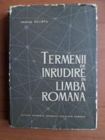 Anticariat: Vasile Scurtu - Termenii de inrudire in limba romana