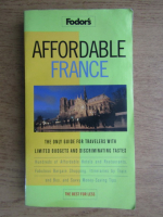 Anticariat: Affordable France (ghid)