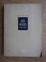 Anticariat: B. Elvin - Geo Bogza, studiu critic