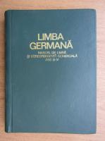 Limba germana. Manual de limba si corespondenta comerciala (1971)