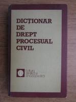 Anticariat: Mircea Costin - Dictionar de drept procesual civil