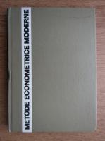 Anticariat: T. Schatteles - Metode econometrice moderne