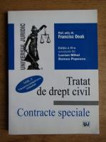 Anticariat: Francisc Deak - Tratat de drept civil. Contracte speciale (volumul 1)