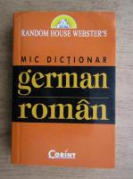 Anticariat: Mic dictionar german-roman