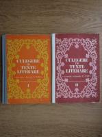 Dumitru Savulescu - Culegere de texte literare pentru clasele V-VII (2 volume)