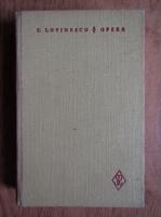Anticariat: Eugen Lovinescu - Opere (volumul 3)