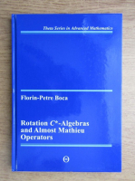 Florin Petre Boca - Rotation C, algebras and Almost Mathieu operators