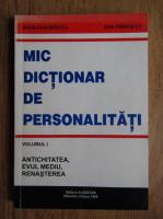 Anticariat: Marilena Bercea - Mic dictionar de personalitati