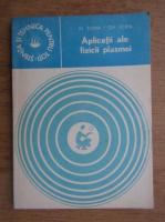 Anticariat: Mihai Toma, Gheorghe Popa - Aplicatii ale fizicii plasmei