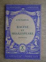 Anticariat: Stendhal - Racine et Shakespeare