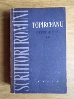 Anticariat: Alexandru Sandulescu - Scriitori romani, Topirceanu opere alese (volumul 2)