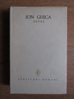 Anticariat: Ion Ghica - Opere (volumul 1)