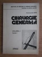 Anticariat: Iuliu Suteu - Chirurgie generala (volumul 1, fascicula 1)