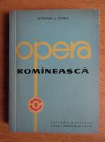 Anticariat: Octavian Lazar Cosma - Opera romaneasca (volumul 2)