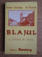 Anticariat: Teodor Seiceanu, Ion Buzasi - Blajul, o istorie in texte