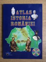 Atlas Istoria Romaniei (contine CD)