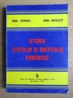 Anticariat: Emil Cernea, Emil Molcut - Istoria statului si dreptul romanesc