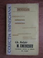 Anticariat: Gh. Bulgar - Eminescu. Coordonate istorice si stilistice ale operei