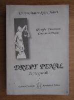 Anticariat: Gheorghe Diaconescu - Drept penal (volumul 1)
