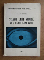 Anticariat: Lidia Vianu - Scenarii lirice moderne