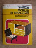 Anticariat: V. Nastase - Tehnologia fabricii mobilei si binalelor