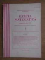 Gazeta matematica, Nr. 1, ianuarie 1995