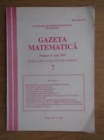 Gazeta matematica, Nr. 7, iulie 1995