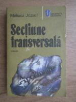 Anticariat: Meliusz Jozsef - Sectiune transversala