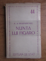 Anticariat: Beaumarchais - Nunta lui Figaro (1946)