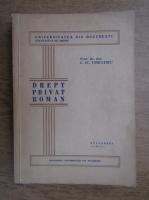 C. St. Tomulescu - Drept privat roman