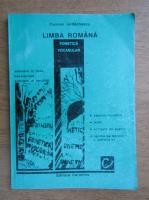 Carmen Iordachescu - Limba romna. Fonetica si vocabular