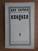 Geo Serban - Exegeze