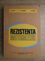 Anticariat: I. Tudose, C. Atanasiu - Rezistenta materialelor