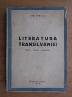 Ion Breazu - Literatura Transilvaniei. Studii, articole, conferinte (1944)
