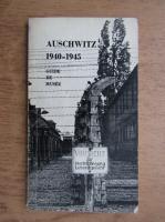 Anticariat: Kazimierz Smolen - Auschwitz 1940-1945. Guide de musee