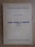 Paul Gogeanu - Istoria statului si dreptului (volumul 2)