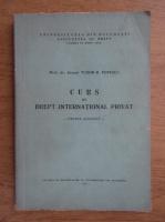Anticariat: Tudor R. Popescu - Curs de Drept International Privat