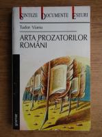 Anticariat: Tudor Vianu - Arta prozatorilor romani