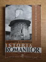 Anticariat: Constantin C. Giurescu - Istoria romanilor  (volumul 2, partea a II-a, editia a IV-a, 1943)