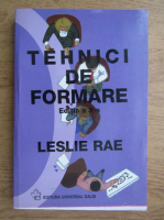 Anticariat: Leslie Rae - Tehnici de formare