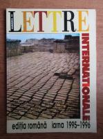 Anticariat: Lettre Internationale, editia romana, iarna 1995-1996, nr. 16