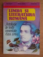 Anticariat: Maria Boatca - Limba si literatura romana, antologie de texte comentate clasa a VIII-a (1998)