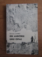 Anticariat: Nicolae Cambrea - Din amintirile unui ostas