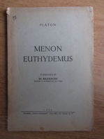 Platon - Menon euthydemus (1943)