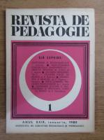 Anticariat: Revista de pedagogie, nr. 1, 1980
