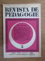 Anticariat: Revista de pedagogie, nr. 3, 1980